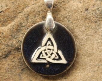 Black Celtic Pendant