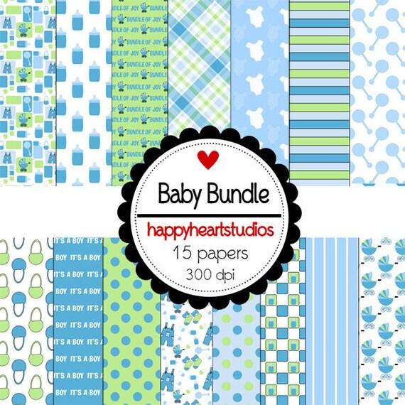 Digital Scrapbook BabyBundle