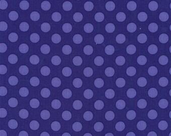 FAT QUARTER- Ta Dot Violet Purple Michael Miller Fabric CX1492-VIOL-D