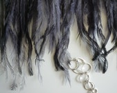 EMU  FEATHERS , Charcoal /  690.A