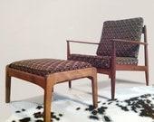 Danish Modern armchair by John Stuart-  mid-century furniture