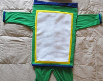 Bot inspired costume from team umizoomi