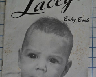 Vintage 1970 Lacey's Baby booklet volume 34 - Knitting patterns/instructions