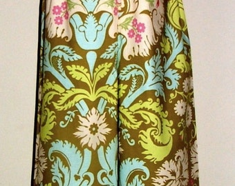 Samurai PANTS - Amy Butler - Acanthus - Made in ANY Size - Boutique Mia