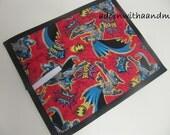 Chalkimamy Batman TRAVEL chalkboard mat/ placemat (a)