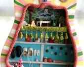 Guitar Doll House  Diorama Crazy Town