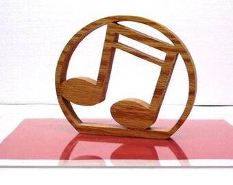 Wood Music Notes Decor,Wood Trivet