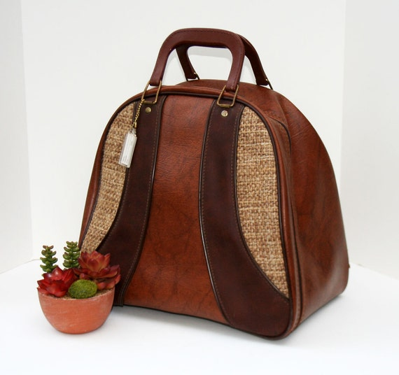 Vintage Bowling Ball Bag