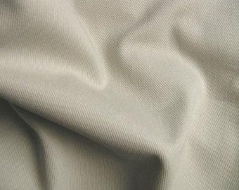 Soft Cotton Denim Twill Slipcover Upholstery Fabric STONE LIGHT TAN