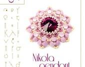 pendant tutorial / pattern Nikola pendant...PDF instruction for personal use only