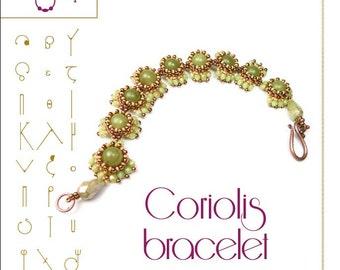pendant tutorial / pattern  Coriolis bracelet...PDF instruction for personal use only