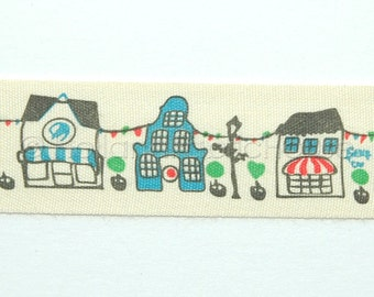 1 m sewing tape - Dutch House Fronts Ribbon