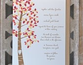 Wedding Invitations . Wedding Invites . Rustic Wedding Invitations . Fall Wedding Invitations - Autumn Wedding - SweetBellaStationery