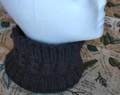 Men's Black Knit Headband or Gaiter