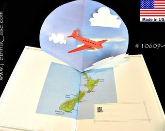 Plane Pop-Up Card ITEM 10609
