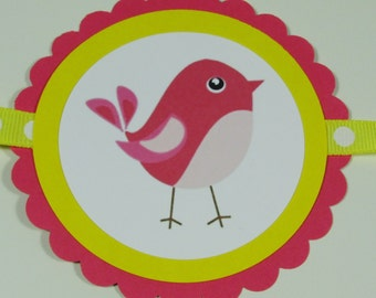 SALE/CLEARANCE Birdie Birthday Banner