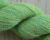 Cascade Alpaca Lace Lime Heather Yarn