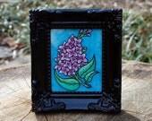 Lilac No. 2 Original by Cora Rountree