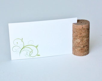 Blank Vertical Wine Cork Place Card Holders