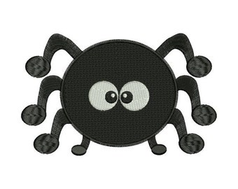 Cute Spider Halloween Machine Embroidery Designs - 4x4 and 5x7 Hoop Instant Download Sale