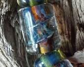 Boro Lampwork bead set