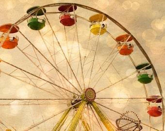 State Fair - Ferris Wheel -  Fine Art Print - Summer Fun