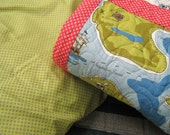 Twin Size Quilt Pirate Quilt Set For A Boy Quilt And Pillow Case