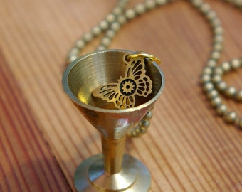 Brass Butterfly Martini