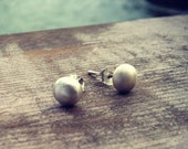 Simple and Organic - Sterling Silver Studs