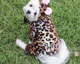 Leopard Pet Halloween Costume for Dogs