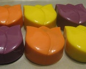 Tulip shaped chocolate covered sandwich cookies one dozen