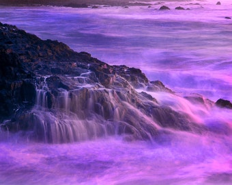 Legend - Scenic Coast Waterfall Landscape - 4x6 Fine Art Photograph