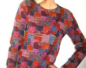 Vintage Missoni multi colored eighties sweater from BASIA'S Priivate Collection