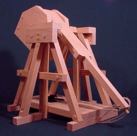 trebuchet plans build a working model da vinci trebuchet. Black Bedroom Furniture Sets. Home Design Ideas