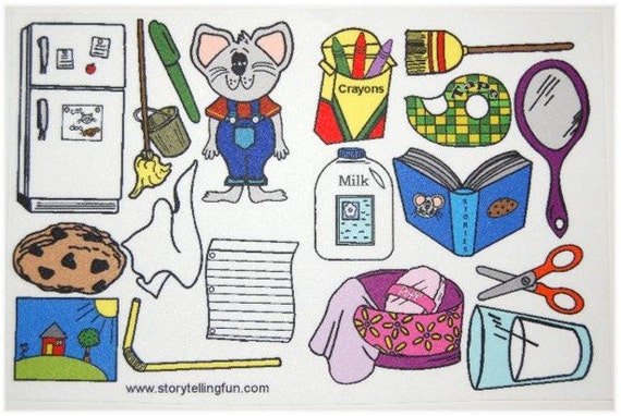If You Give a Mouse a Cookie Felt Board Set / Flannel Board Set  Storytime