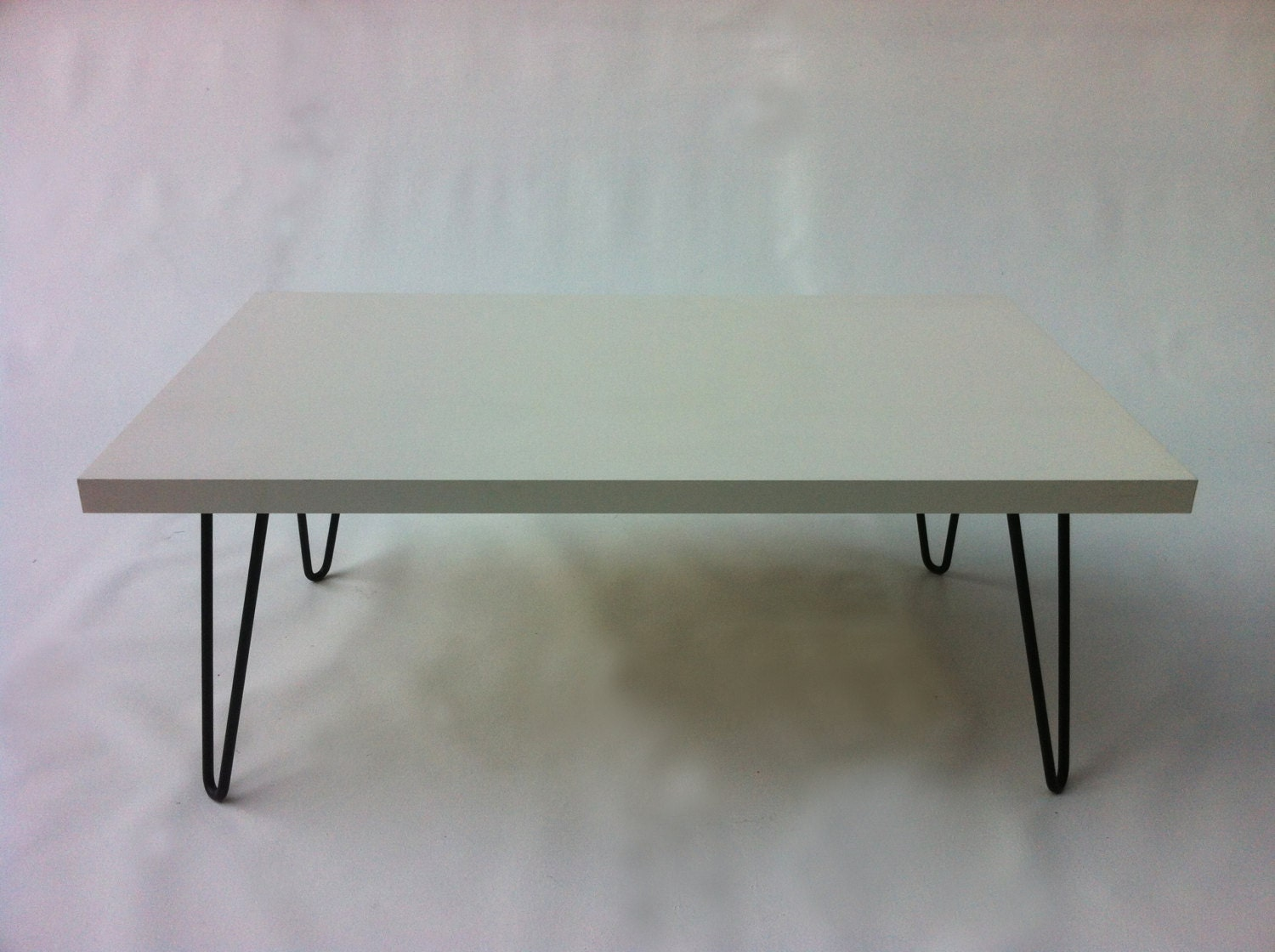 mid century modern coffee table white by studio1212furniture. Black Bedroom Furniture Sets. Home Design Ideas