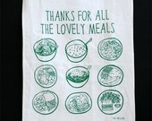 Tea Towel - Thanks For All The Lovely Meals