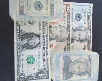 Money Soap Five dollar bill Abraham Lincoln