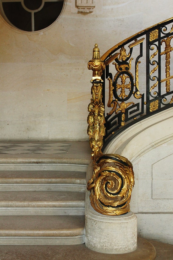 Items Similar To Versailles Black And Gold French