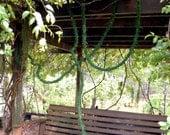 Green Moss Garland Vine on a 60 foot roll-Baskets-Wreaths-Bulk Moss rope-Preserved Moss