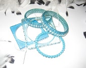 Refurbished Turquoise Bangle Bracelets that look New