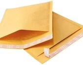 15 Padded Manila 5 x 10 Bubble Envelopes Mailers