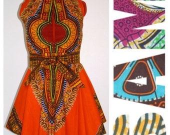 Dashiki Tribal Modern African Print Dress