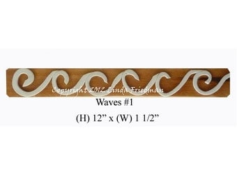 Stamp for Fabric - Waves No.1