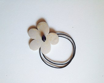 Flower Necklace from Italy - Stoneware