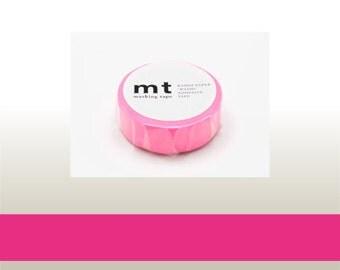 washi masking tape - shocking pink