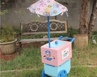 Pretend Food Ice Cream Cart  - Toy Ice Cream