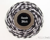 SALE - Tuxedo Black Bakers Twine - TIMELESS TWINE