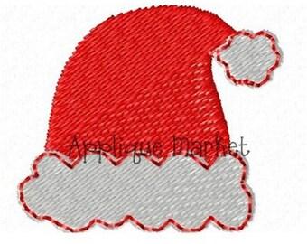 Machine Embroidery Design Mini Santa Hat INSTANT DOWNLOAD