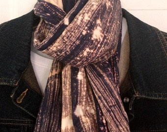 Hand-Dyed Scarf - Made in the USA